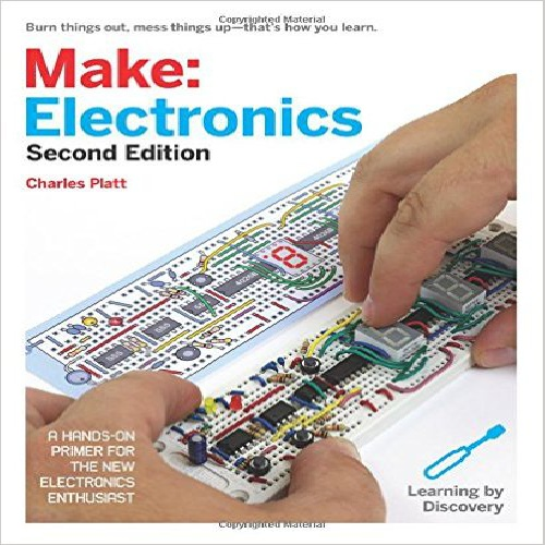 کتاب اموزش الکترونیک (Make: Electronics: Learning Through Discovery)