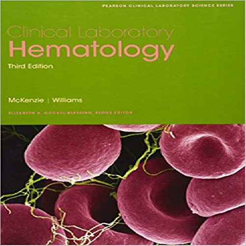 1964047 کتاب Clinical Laboratory Hematology  (ویرایش 13)