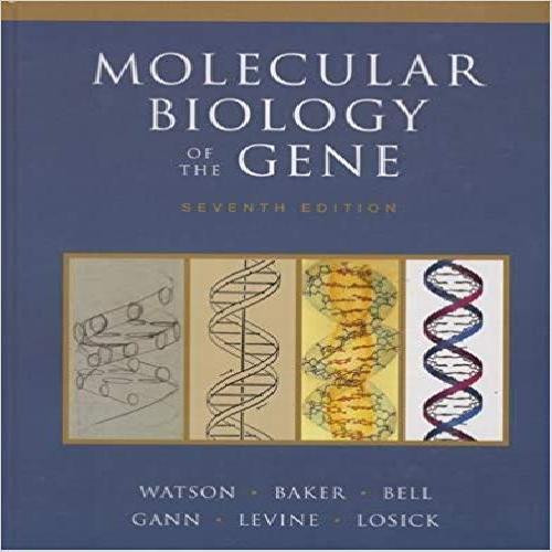 1965329 کتاب بیولوژی مولکولی ژن واتسون