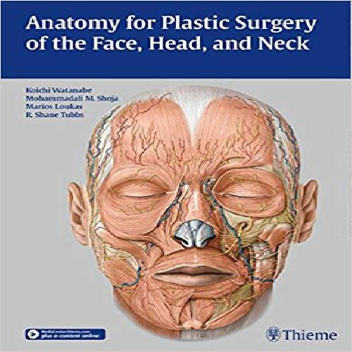 1965357 کتاب Anatomy for Plastic Surgery of the Face, Head, and Neck