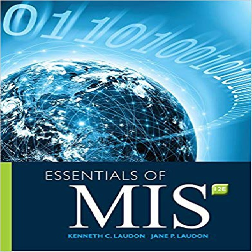 کتاب Essentials of MIS 2016