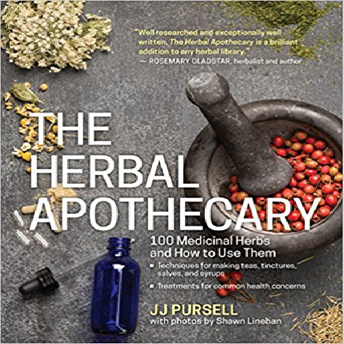 کتاب پزشکی گیاهان دارویی (The Herbal Apothecary: 100 Medicinal Herbs and How to Use Them)